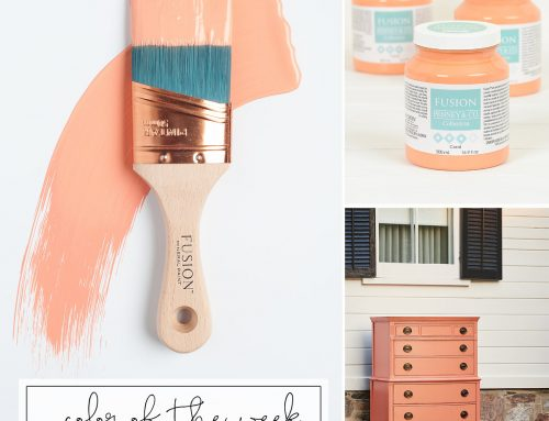 FUSION™ COLOUR OF THE WEEK – CORAL