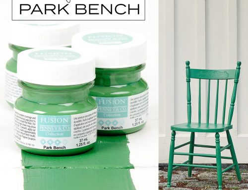 FUSION™ COLOUR OF THE WEEK – PARK BENCH