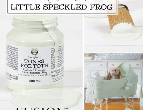 FUSION™ COLOUR OF THE WEEK – LITTLE SPECKLED FROG